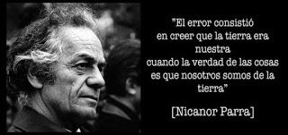 """Caminos del viento: """"Manifiesto"""". Nicanor Parra."""