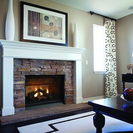 I Like The Simplicity Of The Mantle And I Like The Stone