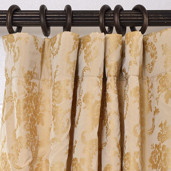 how to change pocket drapes on rings