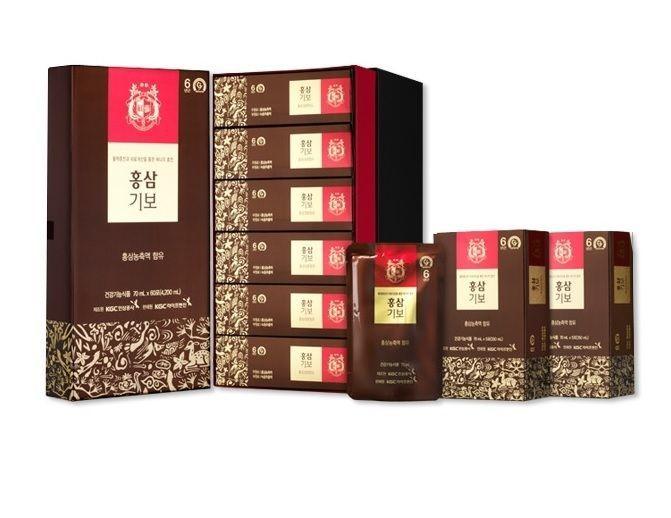 Premium Ginseng Extract High Quality Korean Red Ginseng Hong Sam Kibo 70ml*60 #KGC