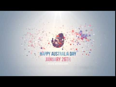 Happy Australia Day Logo