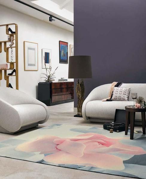 The new Ted Baker Porcelain Rose 57402 Modern Designer Rug is a beautiful piece made from wool and viscose, a luxurious addition for your home or office! https://buff.ly/2hzdl1R?utm_content=bufferdd28f&utm_medium=social&utm_source=pinterest.com&utm_campaign=buffer