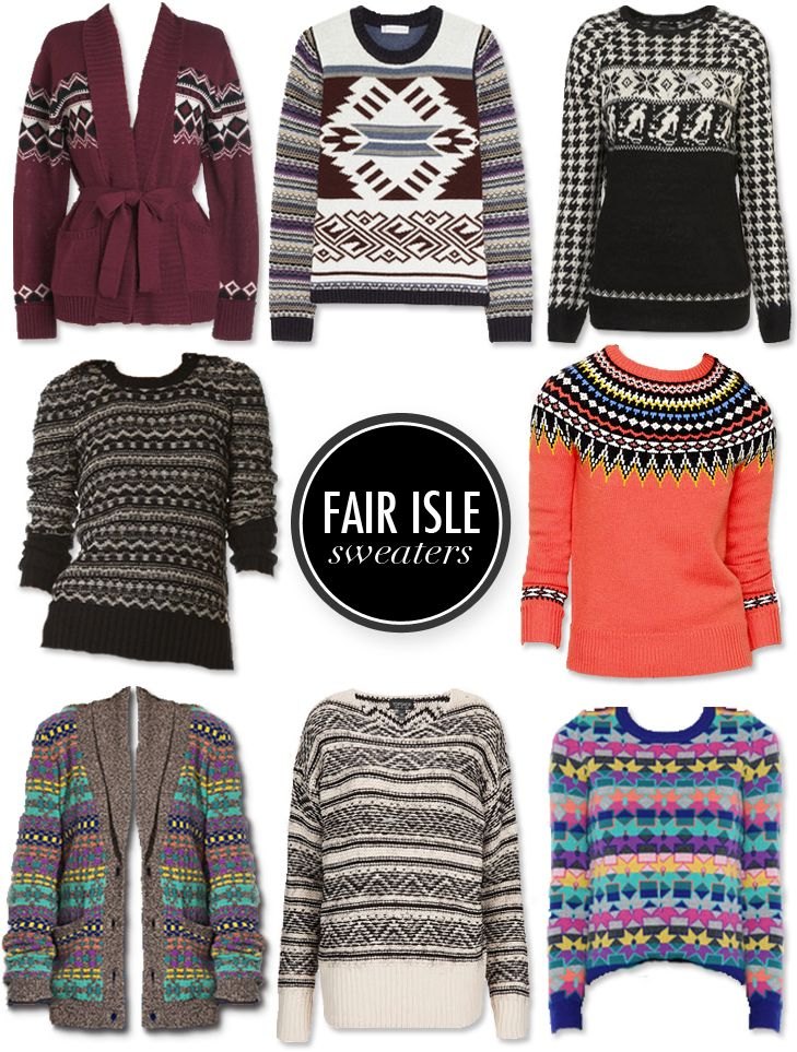 70 best Pattern Play: Fair Isle images on Pinterest | Trends ...