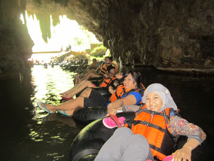 Starting adventuring on Cave Tubing Pindul (^o~)
