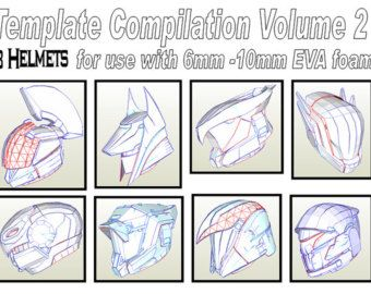 Destiny Warlock Helmet 'Skull of Dire by AtombombStudios on Etsy