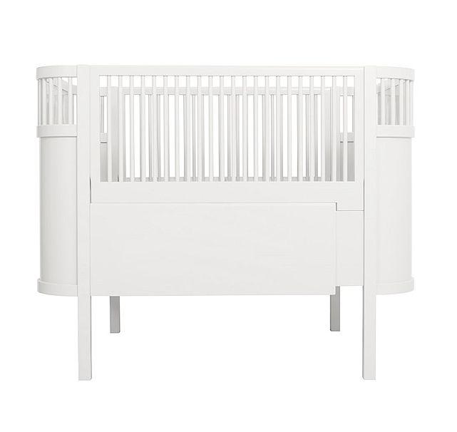 sebra kili bed baby & junior - wit