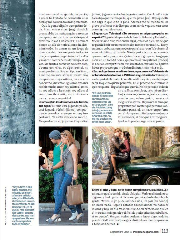 William Levi - People En Español (Sep2014)_4 #WilliamLevy #PeopleEnEspañol #People