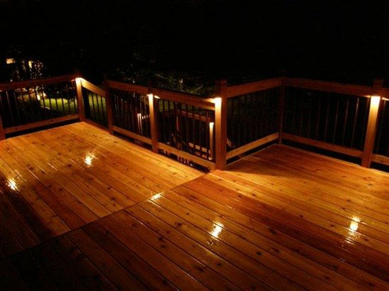 Deck lighting deck lighting ideas deck lighting might for Balcony lighting ideas