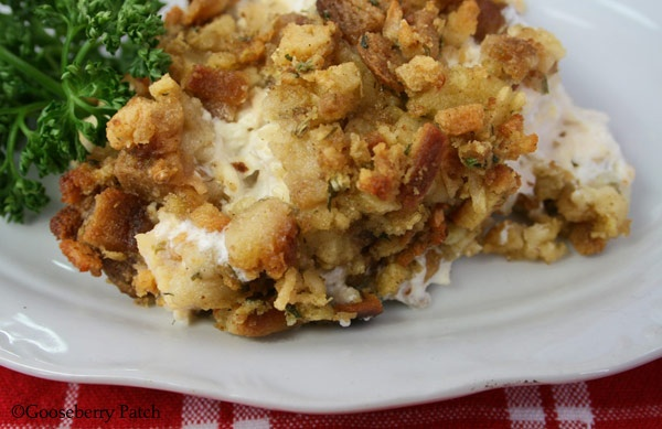 Chicken Casserole Supreme...the first recipe chosen from a contributor to appear in our first cookbook. Still one of our favorites!