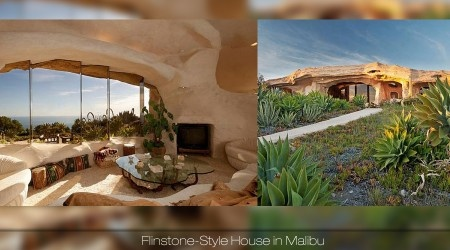 Flinstone-Style House in Malibu