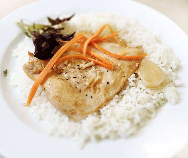 Denné menu Vranov | Kurací filet na korení s grilovanou kvakou, dusená ryža - reštaurácia Hotel Patriot*** #hotel #restaurant