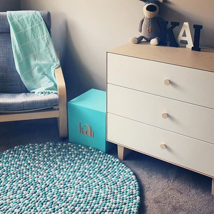 S L E E P  B A B Y  S L E E P This nursery is so zen @casey.hooper has created such a beautiful calm energy Our King Neptune rug is the perfect fit there's a reason why this gorgeous rug is still one of our most popular!!
