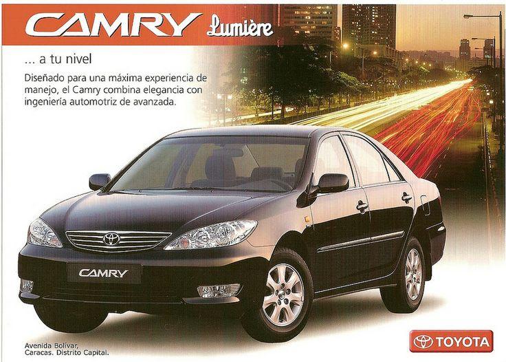 Brochure Toyota Camry 2006