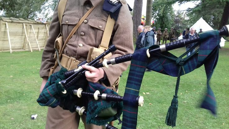 This is a picture of the bagpipes