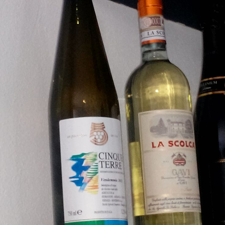 Wine tasting with the Cinqueterre wine