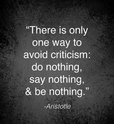 Why do that?  #criticism