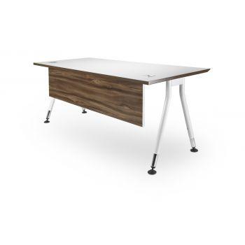 MANO Range  Size: 1800 x 750 desk / 1800 x 600 return - Office Desk http://keenoffice.com.au/product/mano-desk/