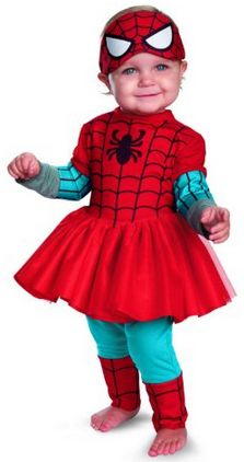 When I started this article I wasn't sure how many Spiderman Halloween costumes for kids would be in this list. Instead, I learned that boys and GIRLS of all ages enjoy dressing up as this web-slinging super hero (yes, even the girls).