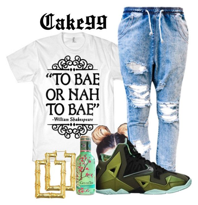 """Or nah~The Weekend"" by cake99 ❤ liked on Polyvore featuring NIKE"