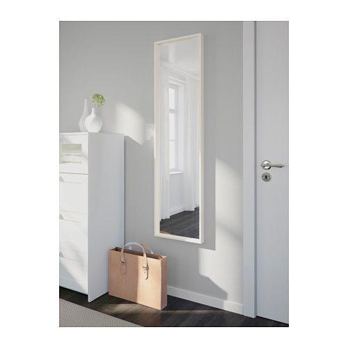 NISSEDAL Spiegel - wit - IKEA