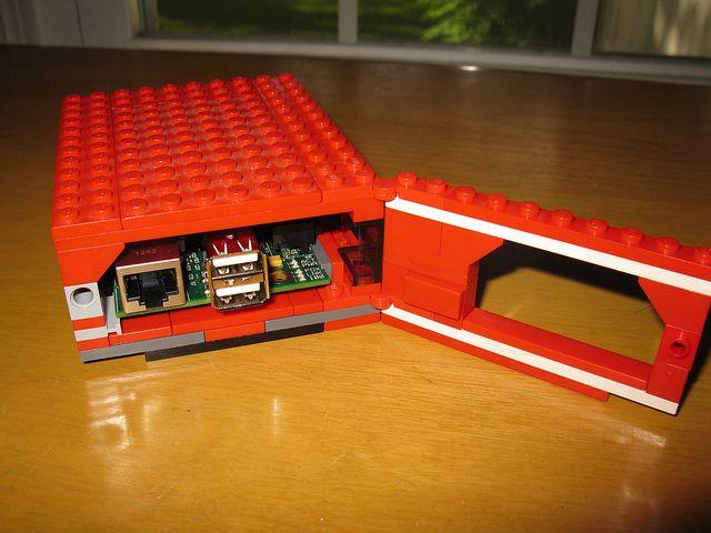 How to make a Raspberry Pi LEGO case