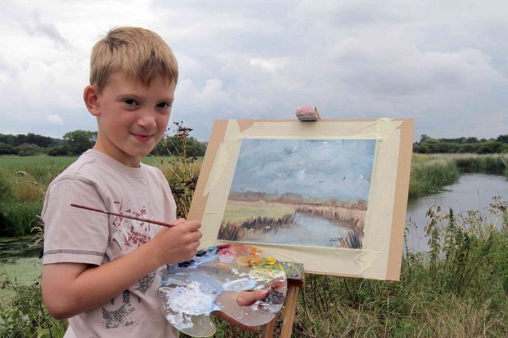 Картины 14-летнего «Мини-Моне» из Норфолка стоят 2 млн фунтов