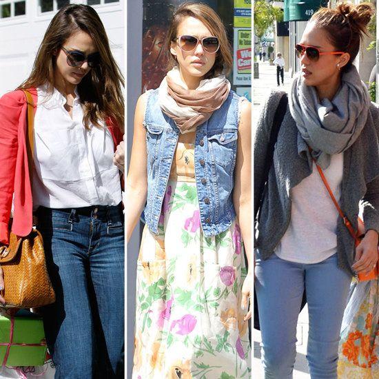 Jessica Alba - love the looks!