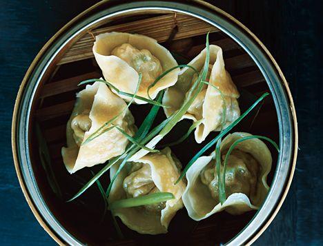pork + chive dumplings • andrea reusing • gourmet mag • photo: john kernick