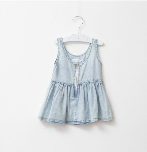 Chambray denim dress#chambray#summer#kidsfashion#girlsfashion