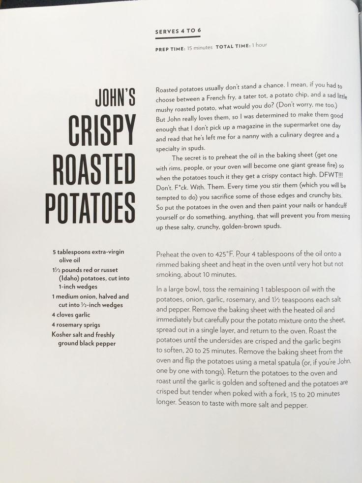 John's Crispy Roasted Potatoes  - Chrissy Teigen
