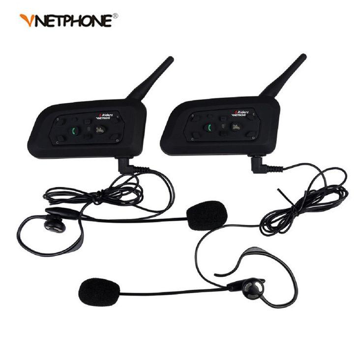 2pcs V6C Football Referee Headset BT Intercom Full Duplex 2Users 1200M Interphone Max 6Users Bluetooth Wireless Earphone Speaker