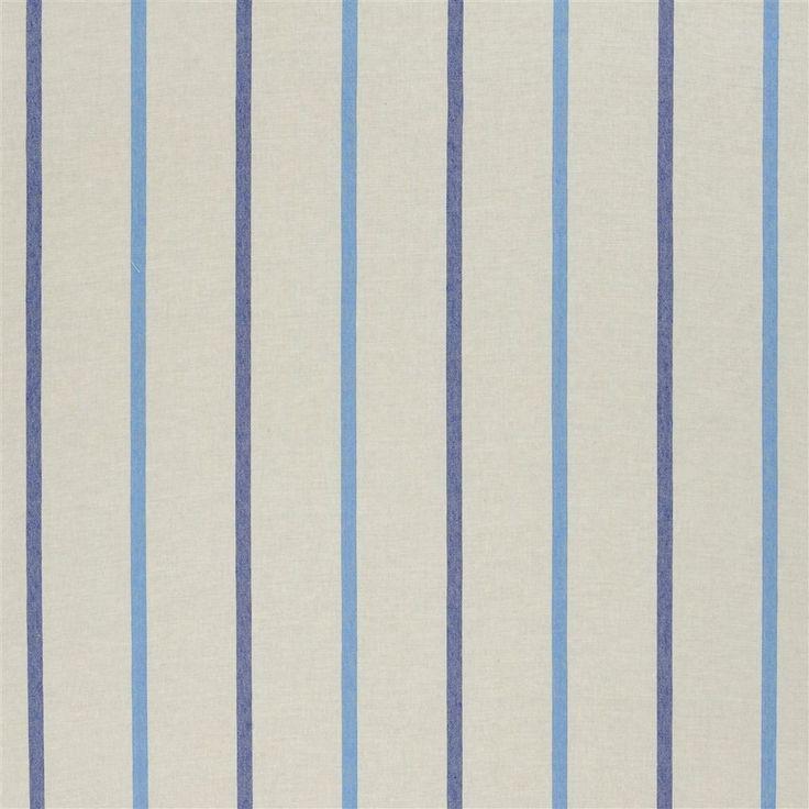 brera nastro - cobalt fabric | Designers Guild Essentials