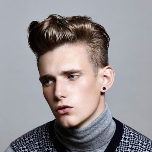 Men's Modern Quiff Hairstyle