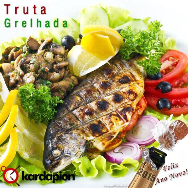 Sugestão: Comer Truta Grelhada Acesse e saiba onde.  www.kardapion.com/comer-truta-grelhada