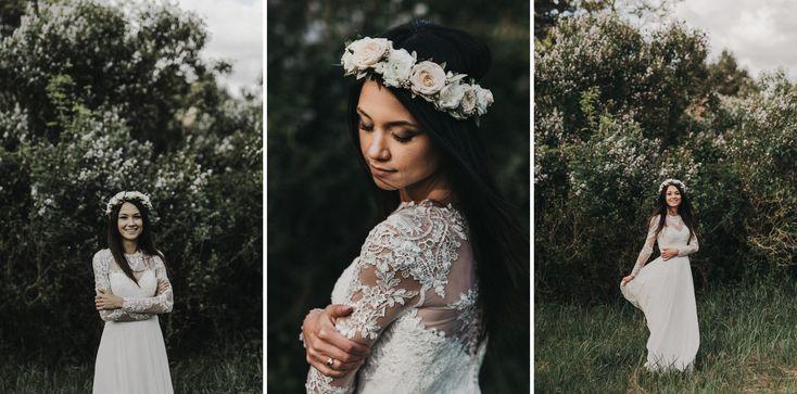 INNA Studio_flower crown / wedding / ślubny wianek / fot. Piotr Jakubowicz