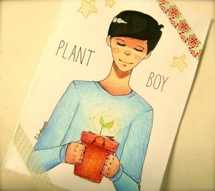 -Plant Boy- by lindepet.deviantart.com on @DeviantArt