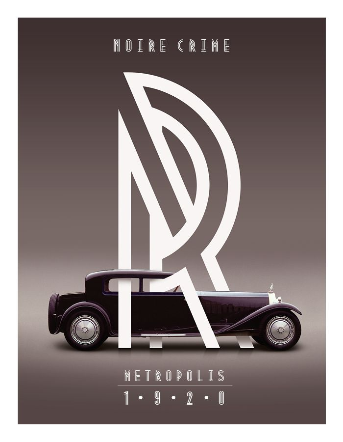 """Metropolis comes from the the industrial movement of the 1920′s where skyscrapers where born. """"Using a double line technique, I wanted to create my own Art Deco style font that represented this era. The result is a bold, bumptious typeface with a stolidly calm disposition.""""    Designed by Josip Kelava from Melbourne, Australia."""