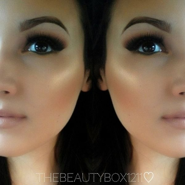 """gorgeous <3 such a natural looking glow. perfect """"every day makeup"""". I love it!"""