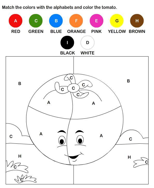 esl efl worksheets kindergarten worksheets color by letter worksheets - Coloring Sheet For Kindergarten
