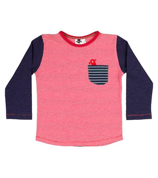 Crazy Luke L/S Pocket T Shirt, Limited edition clothing for children, www.oishi-m.com