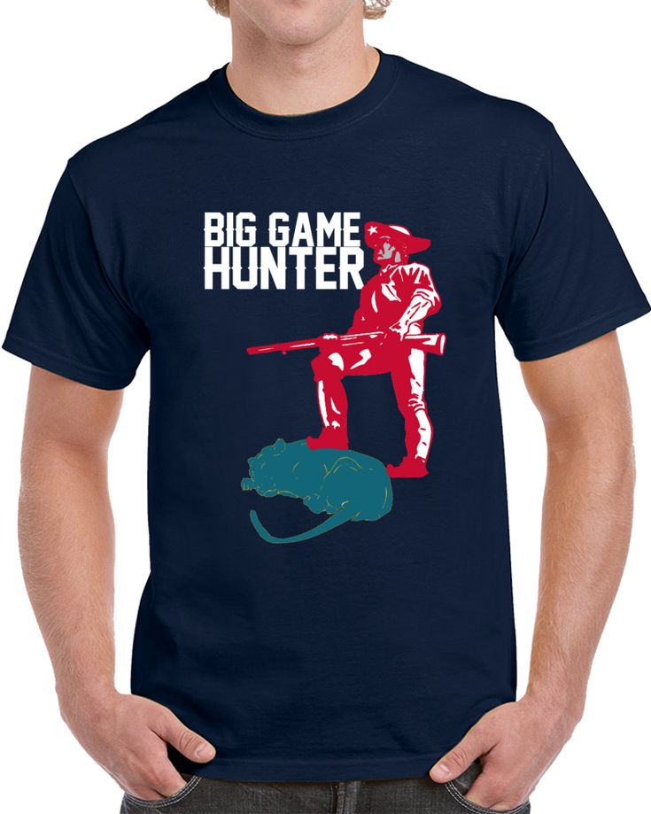 New England Football Team Big Game Hunter AFC Championship T Shirt