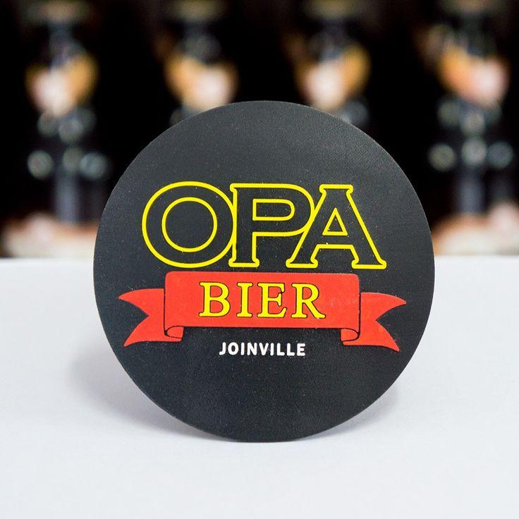 Porta Copo Opa Bier Emborrachado com 6 unidades