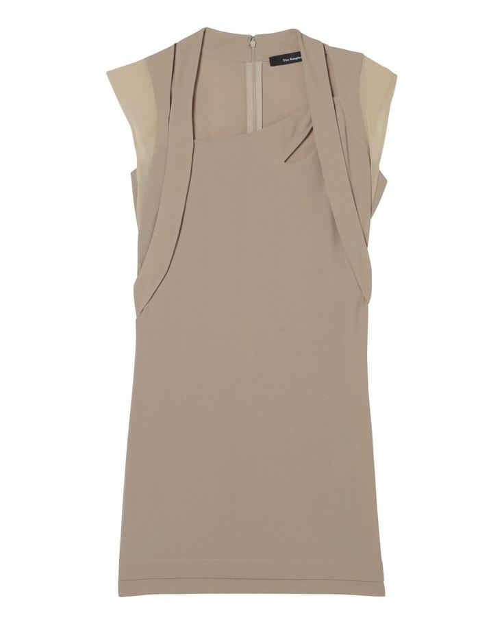 Crepe dress - Dress - Women - The Kooples