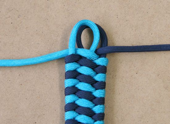 How To Braid Paracord Bracelet   How To: Woven Cuff Bracelet