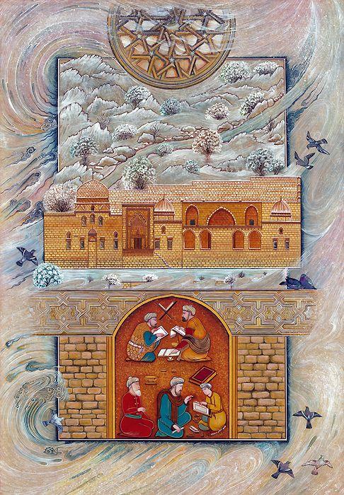 Minyatür, Mardin Kasımiye Medresesi