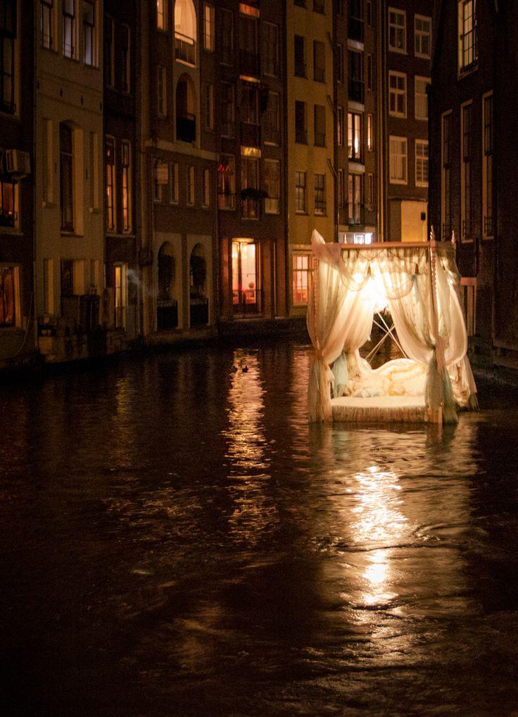 #amsterdam light festival Exposure 0.3, Aperture f/4.0, Focal Length 28 mm, ISO Speed 3200