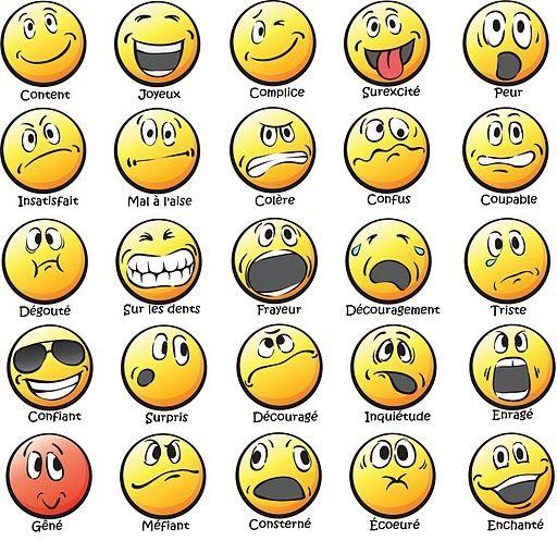 Des tags pour aider les enfants à parler de leurs émotions et à mettre des mots dessus