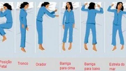 O que a posição em que dormimos diz sobre nós