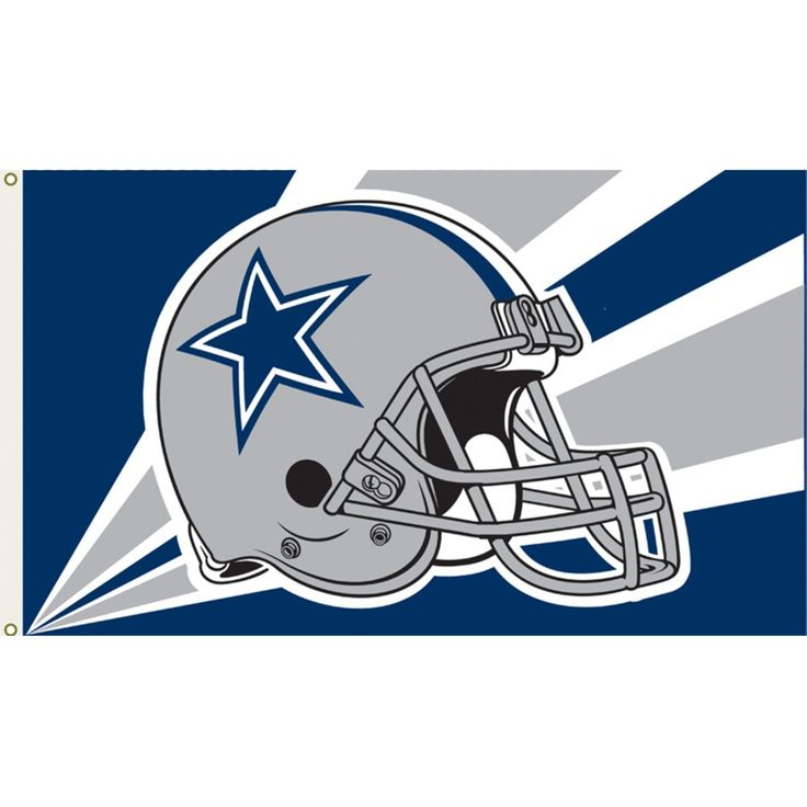 Dallas Cowboys' Flag - 3x5'