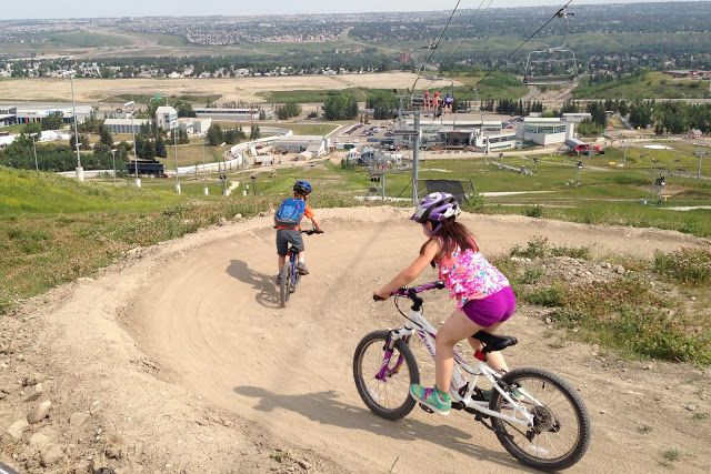 An Inside Look at Winsport Mountain Bike Camps at Canada Olympic Park / What really happens after you drop the kids off for the day?